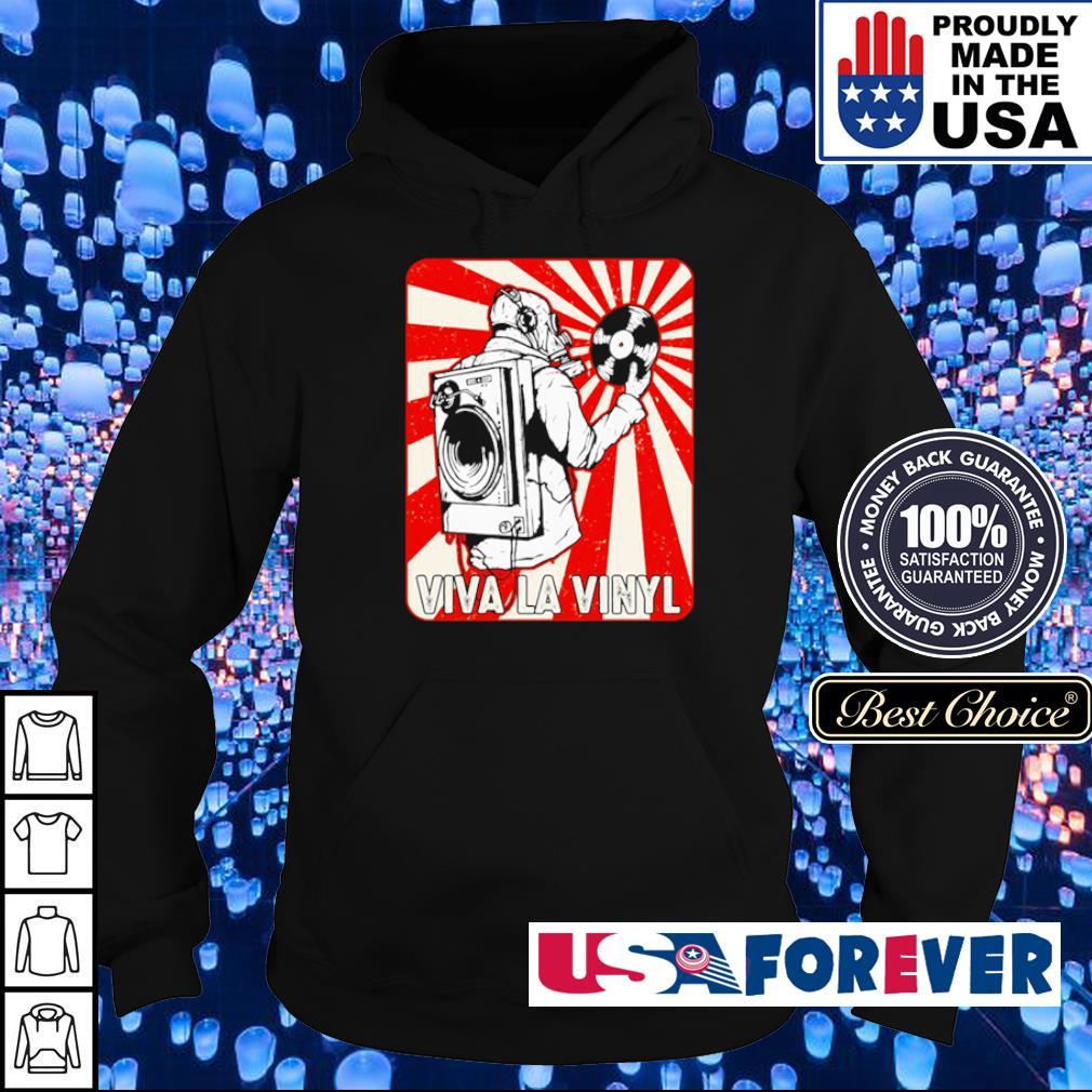 Official viva la vinyl retro s hoodie