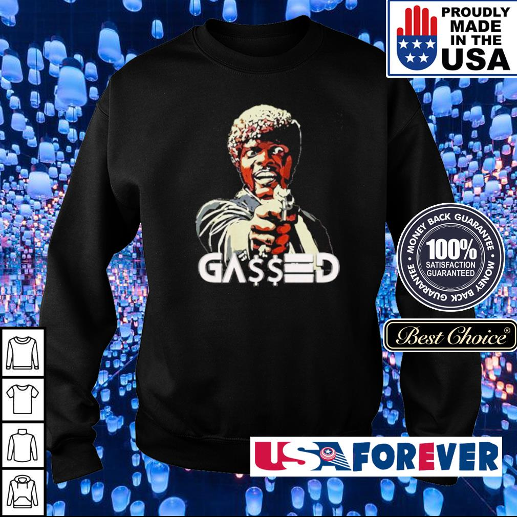 Samuel L. Jackson gassed motherfucker s sweater