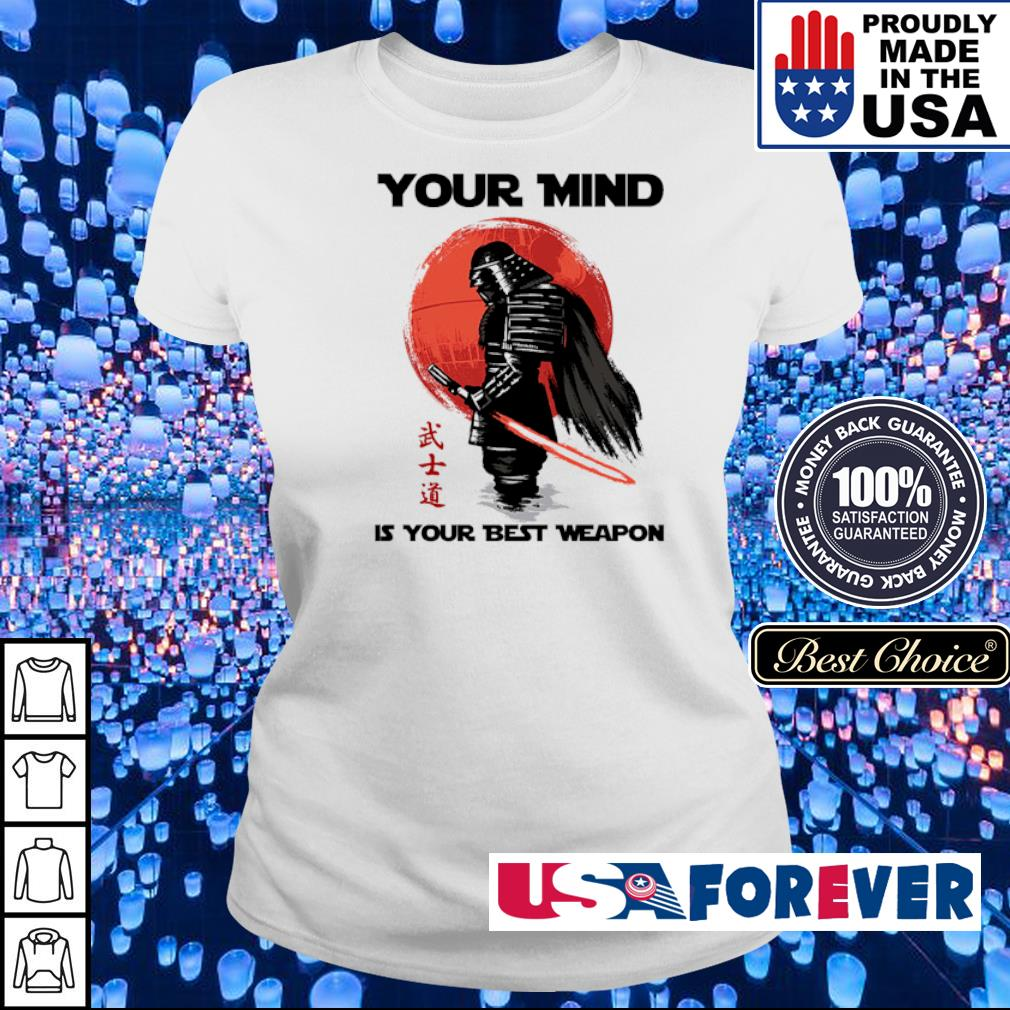 Samurai your mind is your best weapon s ladies