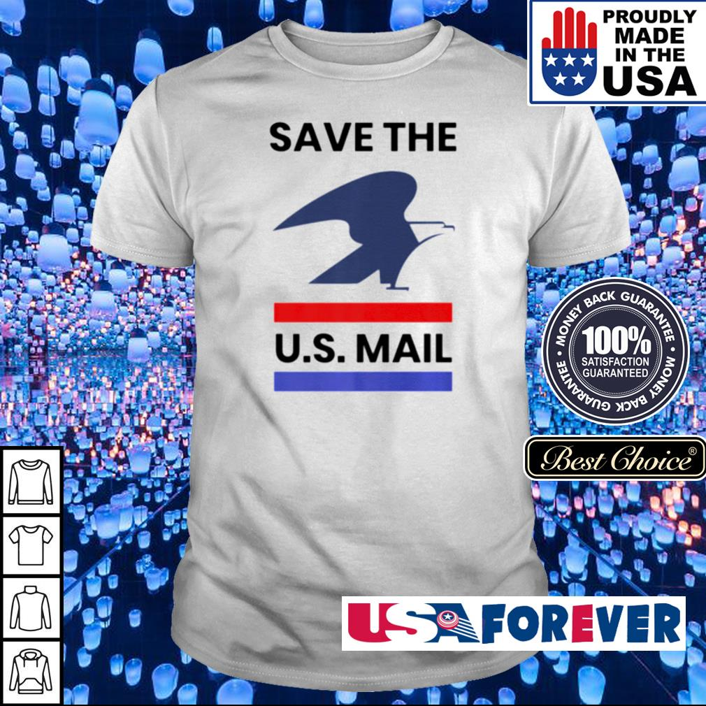 Save the US Post Office shirt