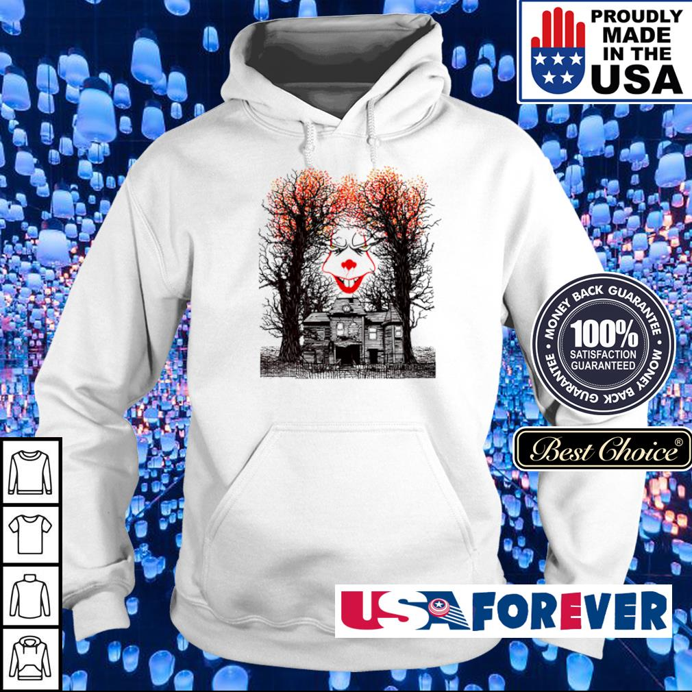 Scary IT Pennywise face happy Halloween s hoodie
