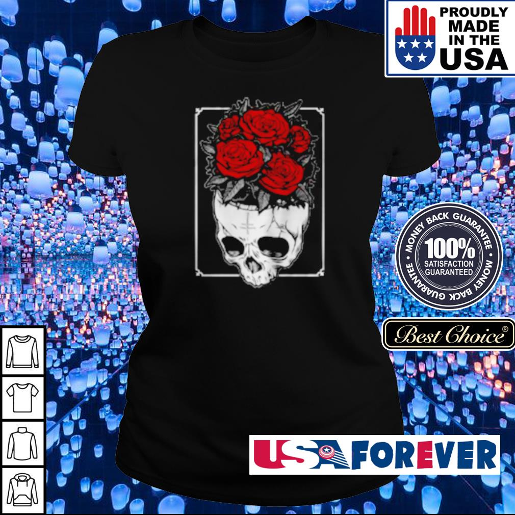 Skull and roses something on my mind s ladies
