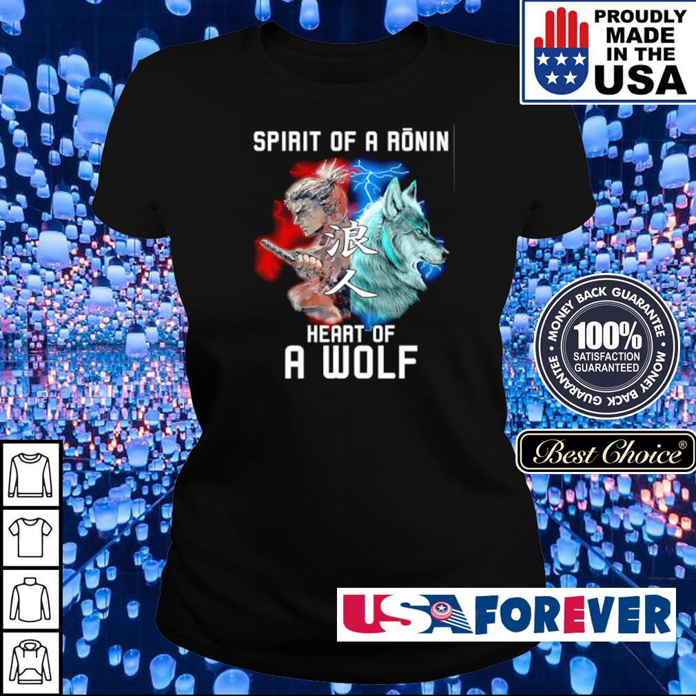 Spirit of a ronin heart of a wolf s ladies