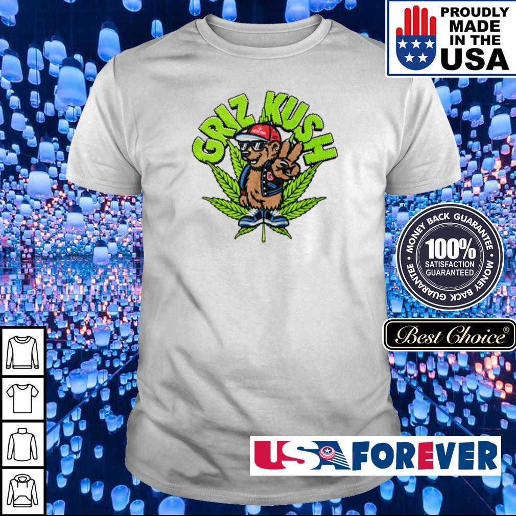 Squirrel smoking weed griz kush shirt