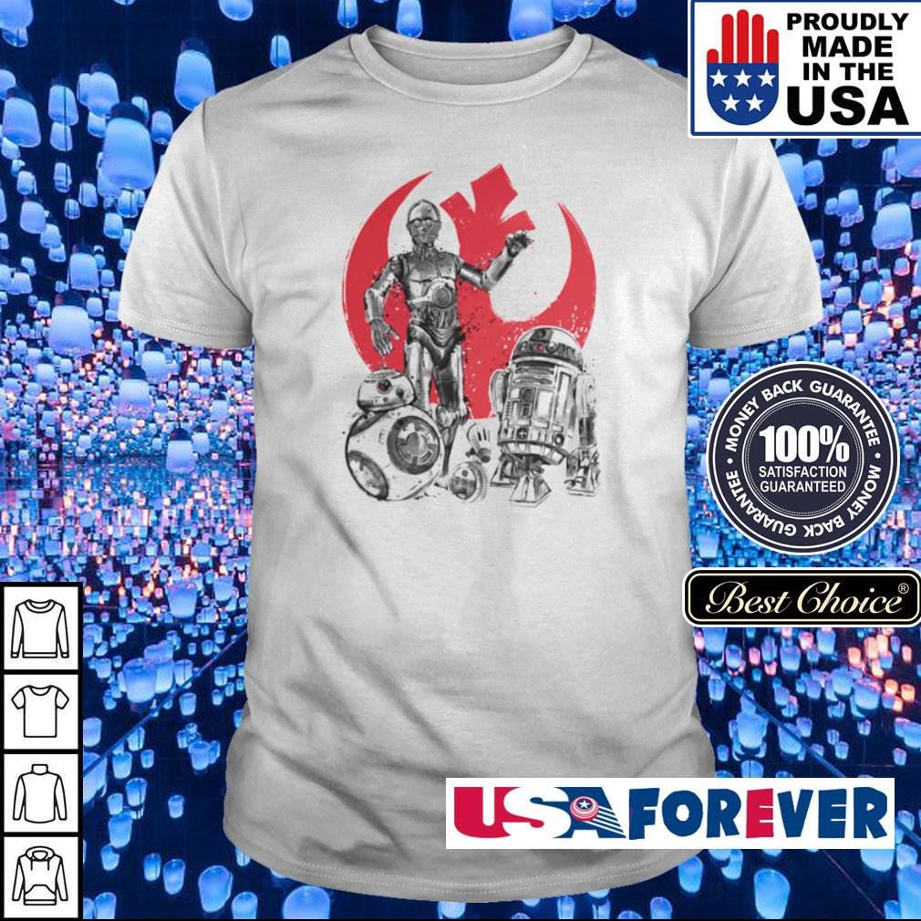Star Wars the rise of droids shirt