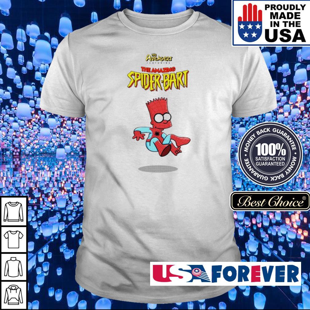 The Avengers The Amazing Spider Bart shirt