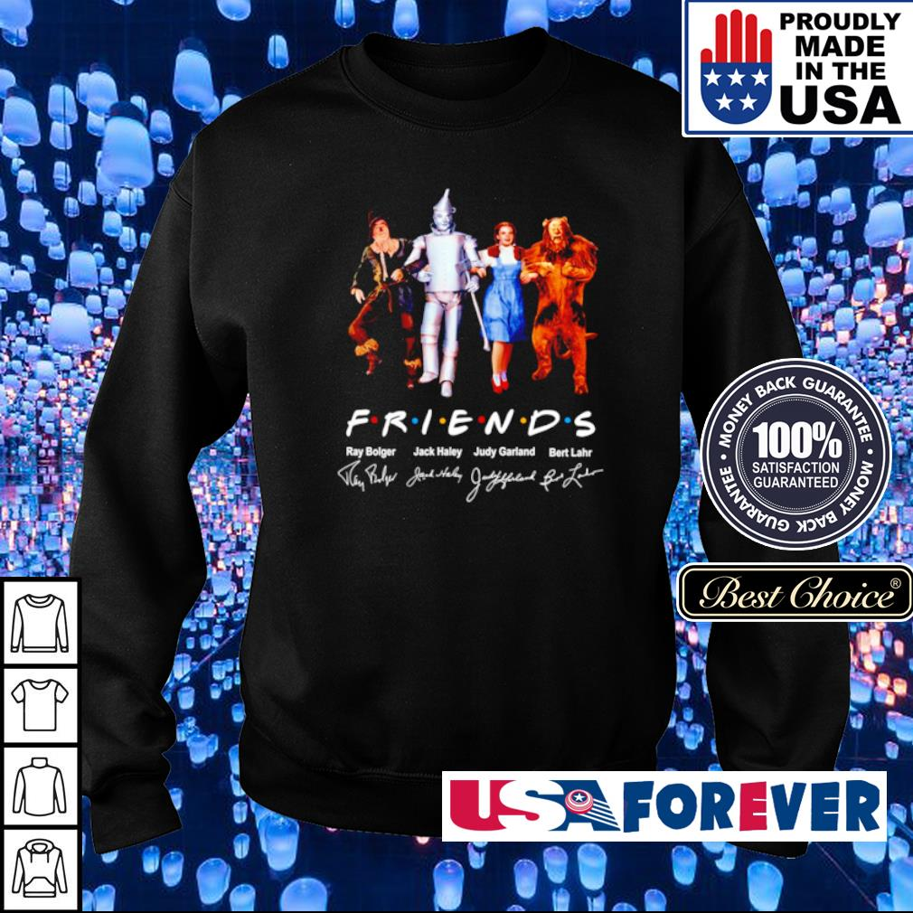 The Wizard of Oz Friends TV Show signature s sweater