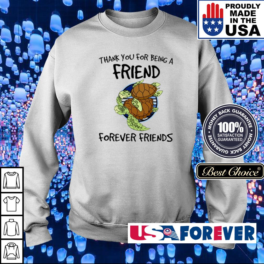 Turtle thank you for being a friend forever friends s sweater