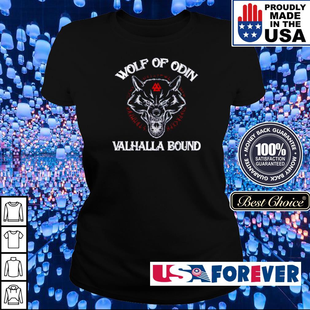 Viking wolf of Odin Valhalla bound s ladies