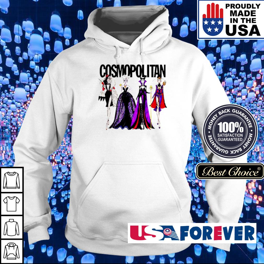 Vogue Disney villains evil cosmopolitan s hoodie