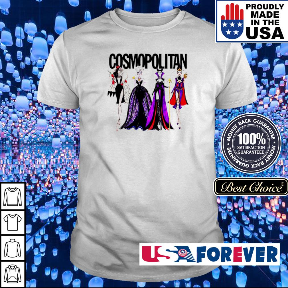 Vogue Disney villains evil cosmopolitan shirt
