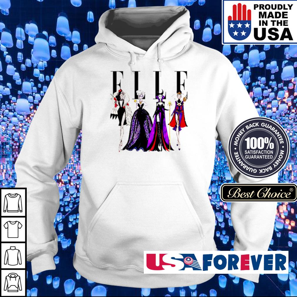 Vogue Disney villains evil elle s hoodie