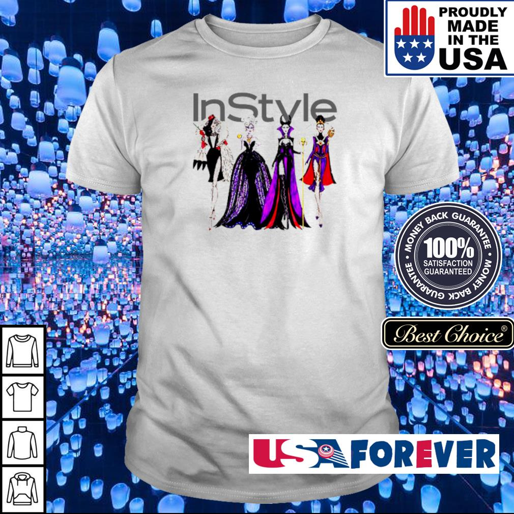 Vogue Disney villains evil instyle shirt