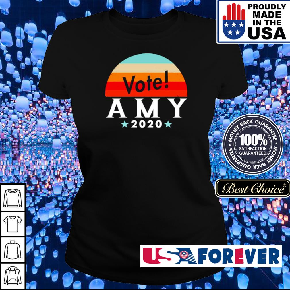 Vote amy klobuchar 2020 vintage s ladies