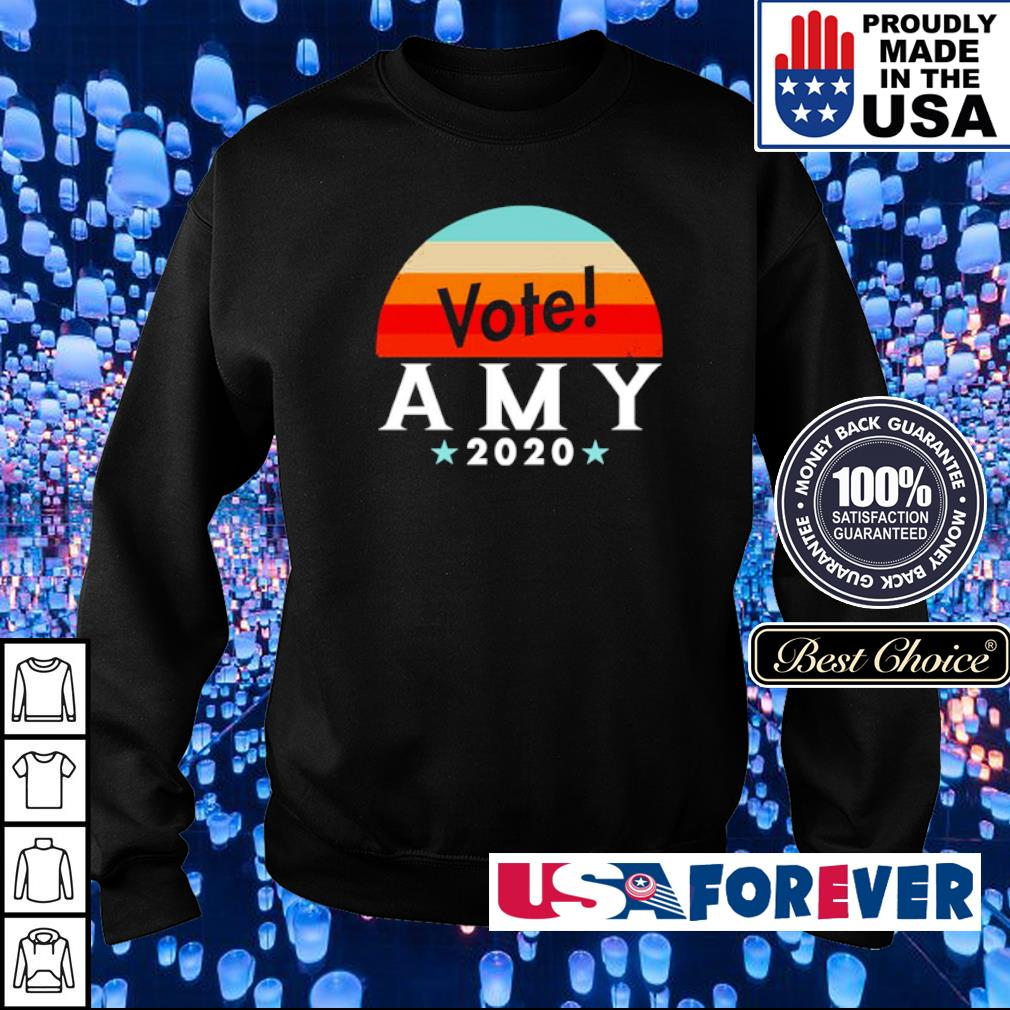 Vote amy klobuchar 2020 vintage s sweater