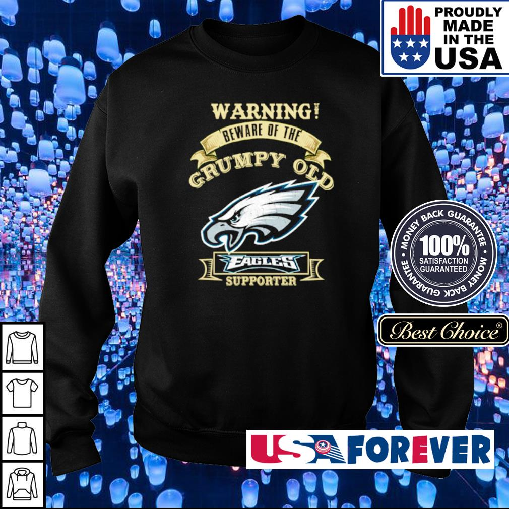 Warning beware of old Philadelphia Eagles supporter s sweater
