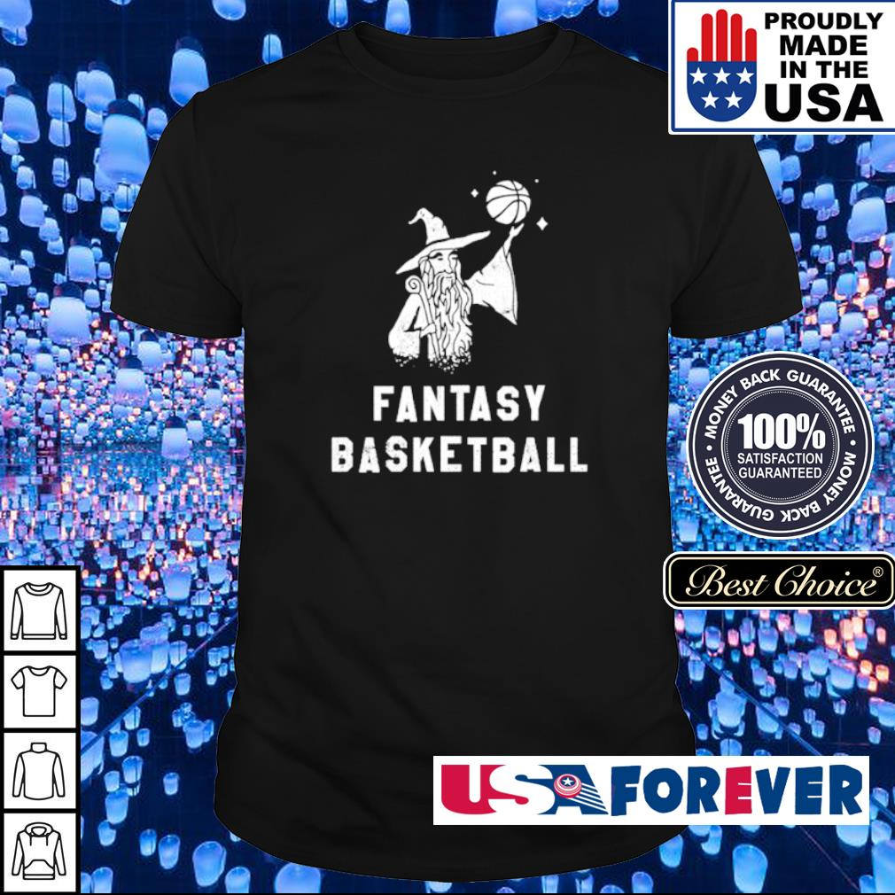 Witch fantasy basketball shirt