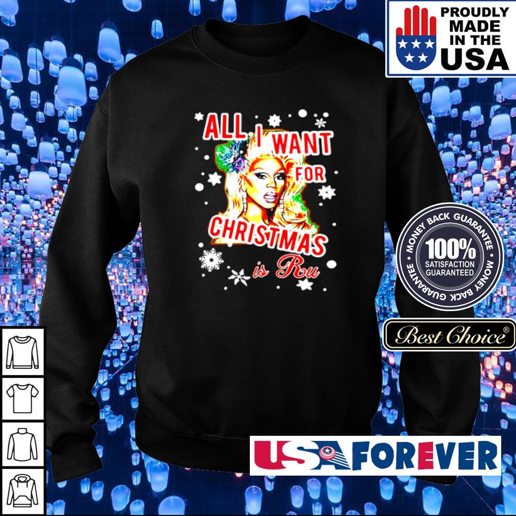 All I want for Christmas is Rupaul sweater