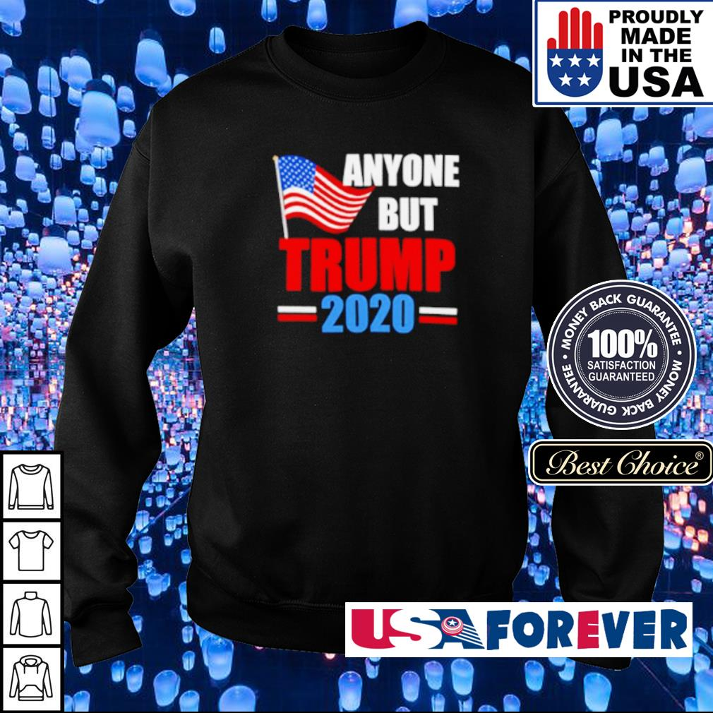 Anyone but Trump 2020 s sweater