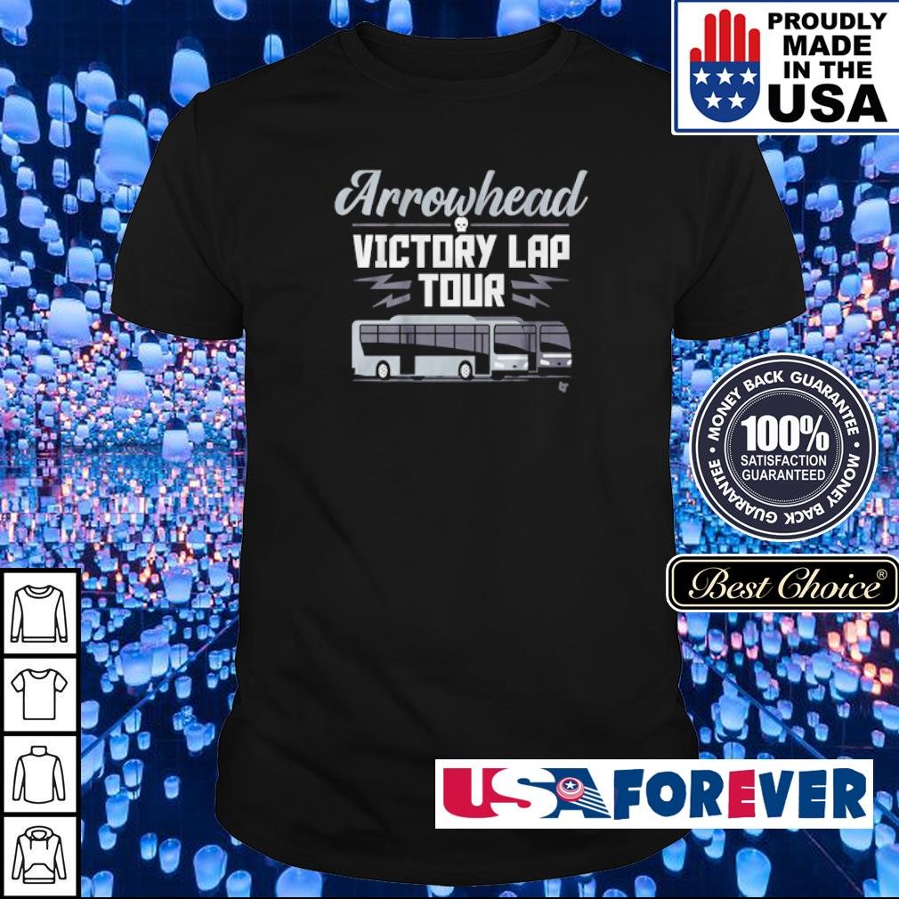 Arrowhead victory lap tour shirt