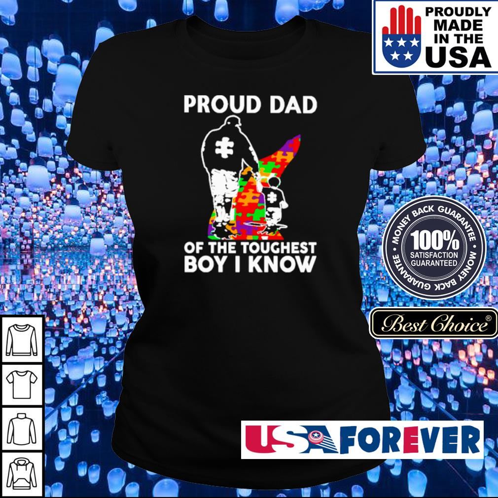 Autism awareness proud dad of the toughest girl I know s ladies