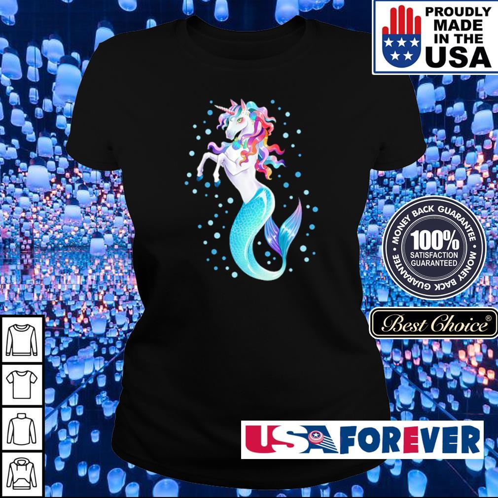 Awesome beautiful unicorn mermaid s ladies