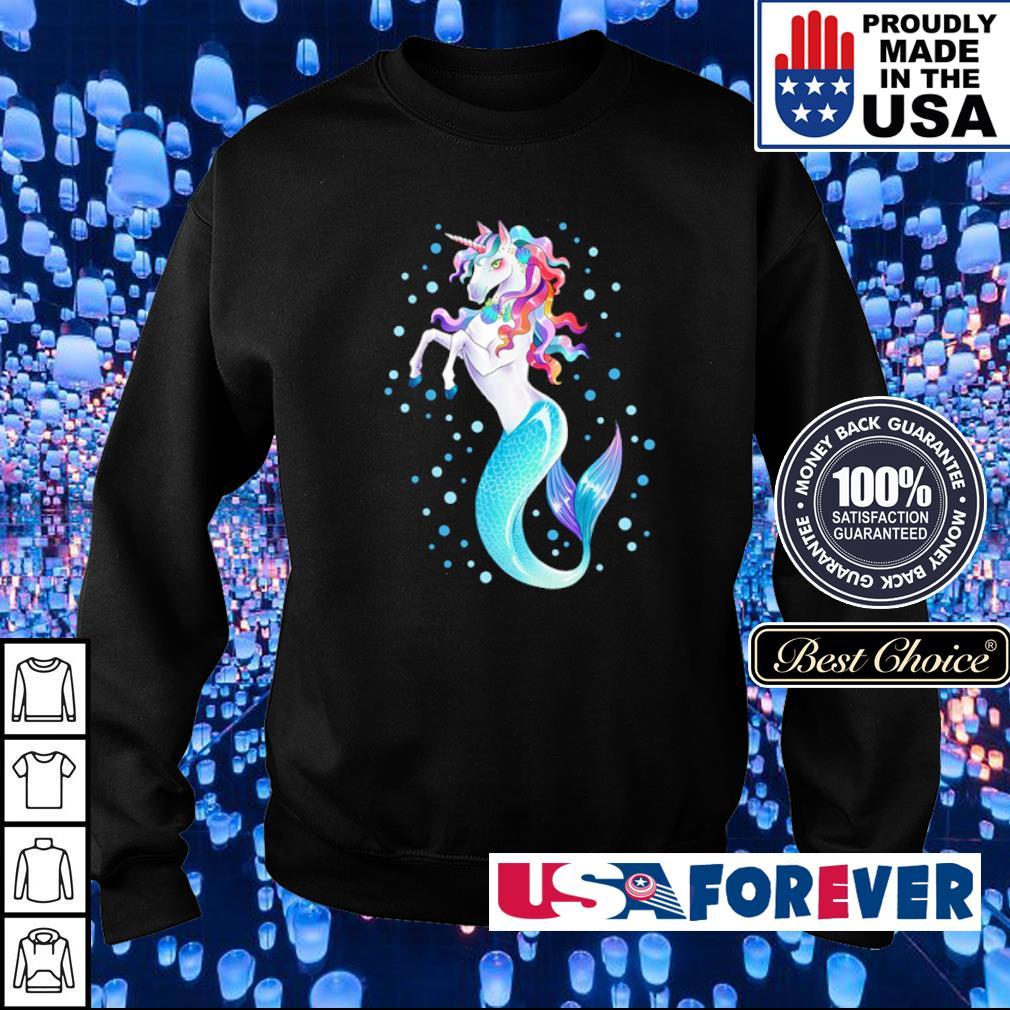 Awesome beautiful unicorn mermaid s sweater