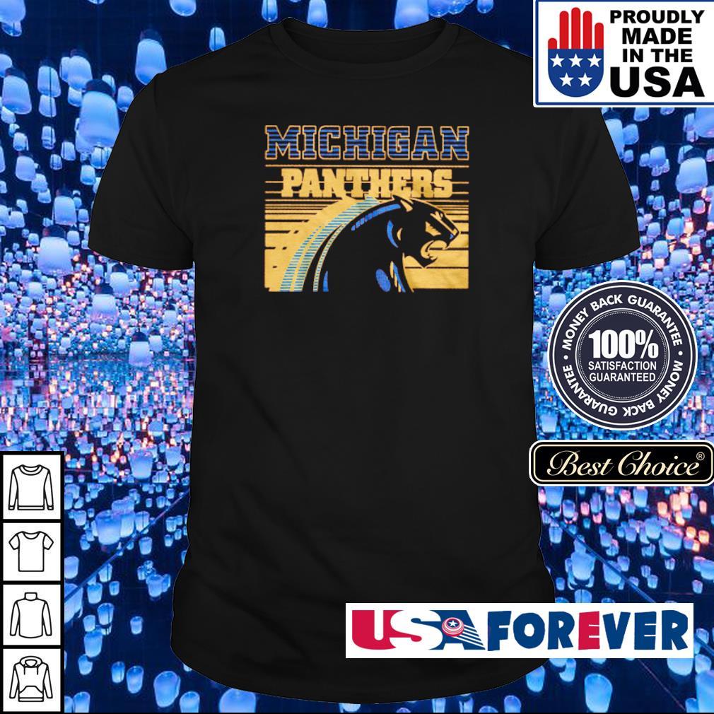 Awesome Michigan Panthers shirt