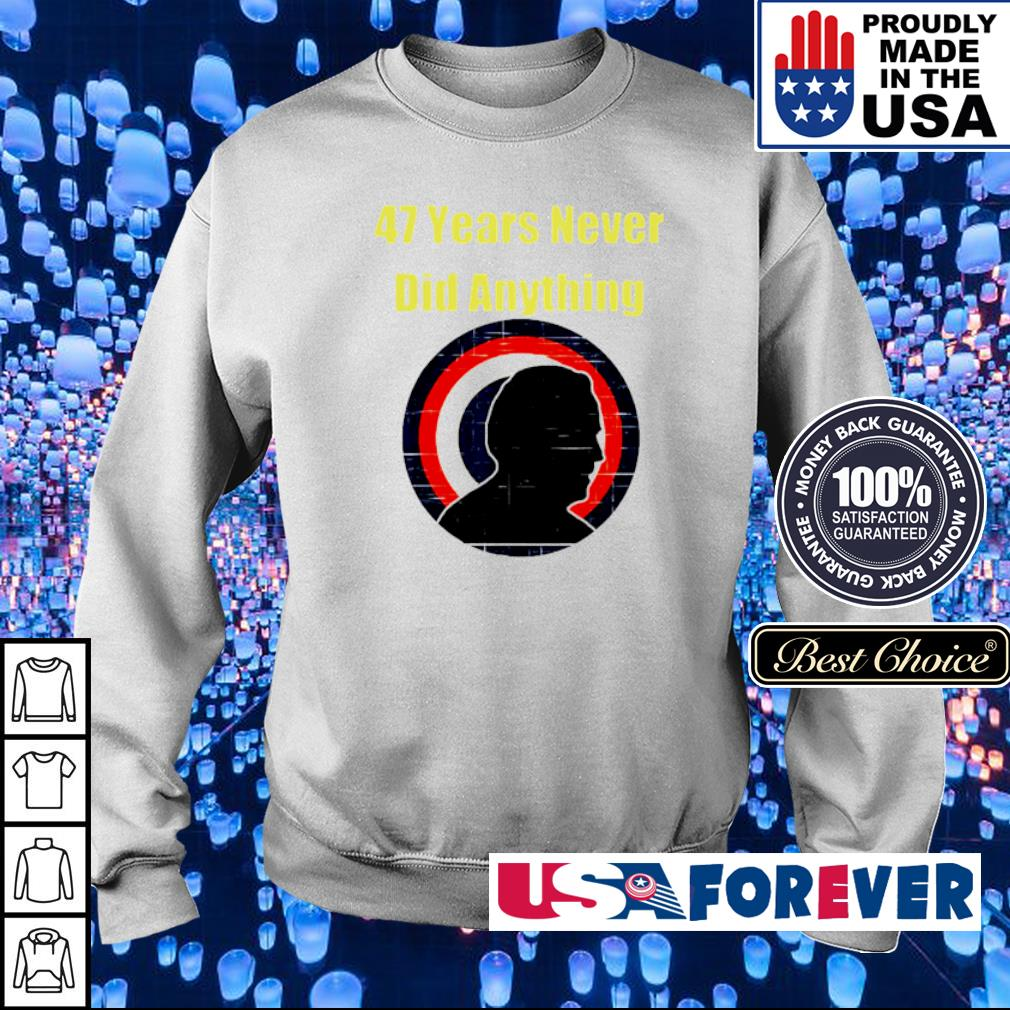 Biden 47 years never did anything vintage s sweater