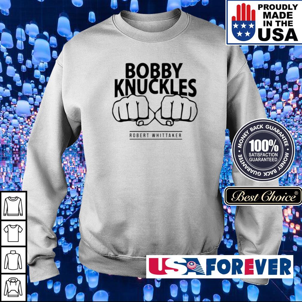 Bobby Knuckles Robert Whittaker s sweater