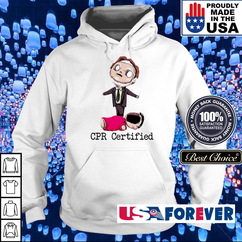 Facemask CPR certified s hoodie