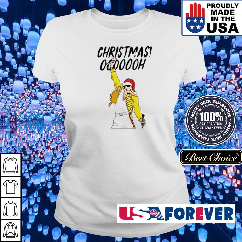 Freddie Mercury Christmas ooooooh sweater ladies