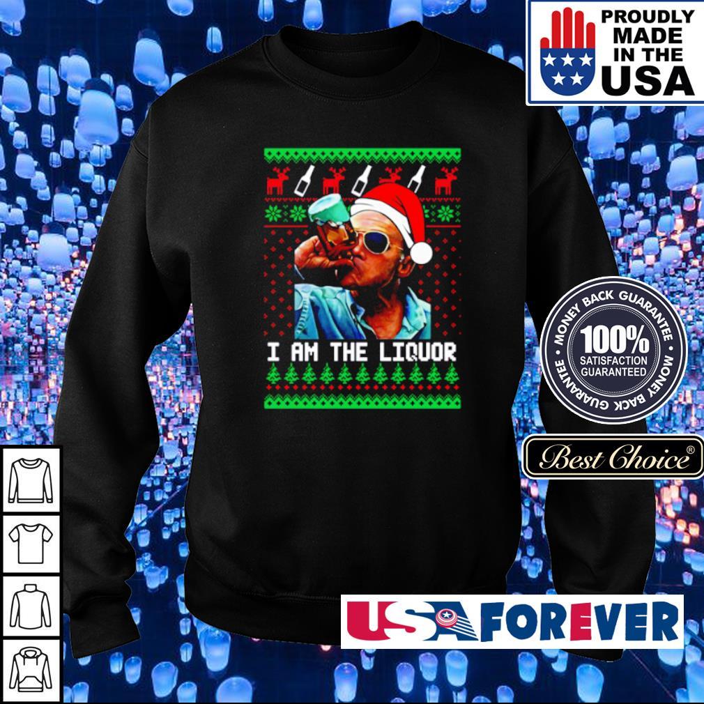 I am the liquor merry Christmas sweater