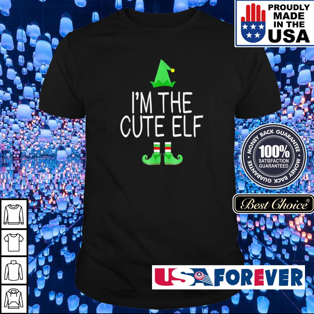 I'm the cute elf merry Christmas sweater shirt