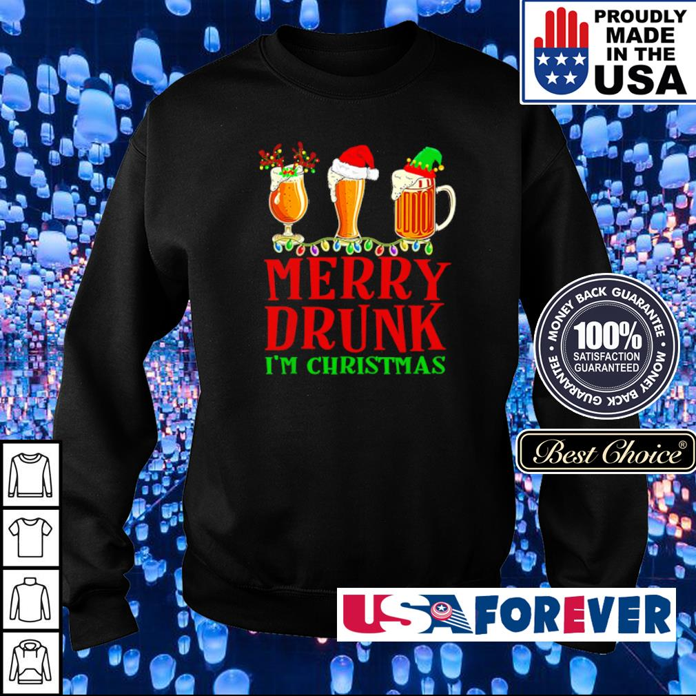 Merry drunk I'm Christmas sweater