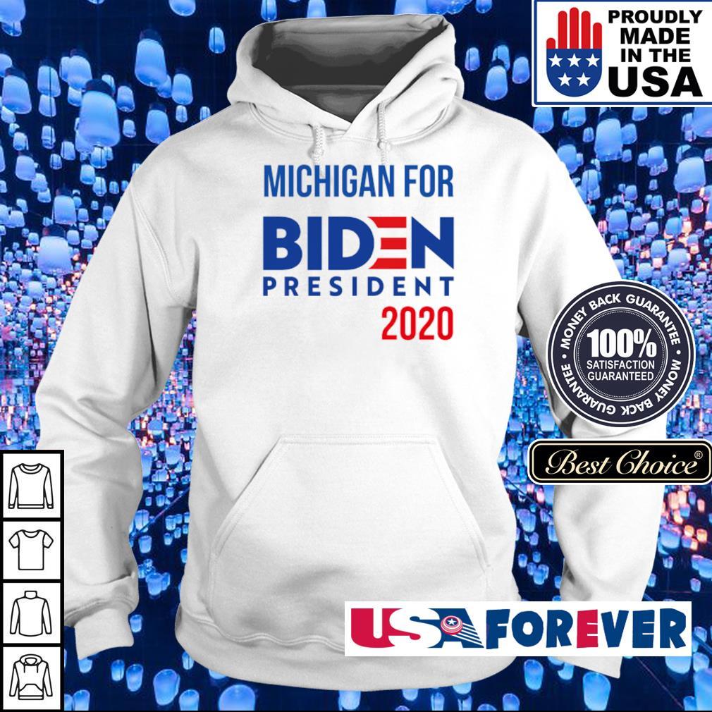 Michigan for Joe Biden president 2020 s hoodie