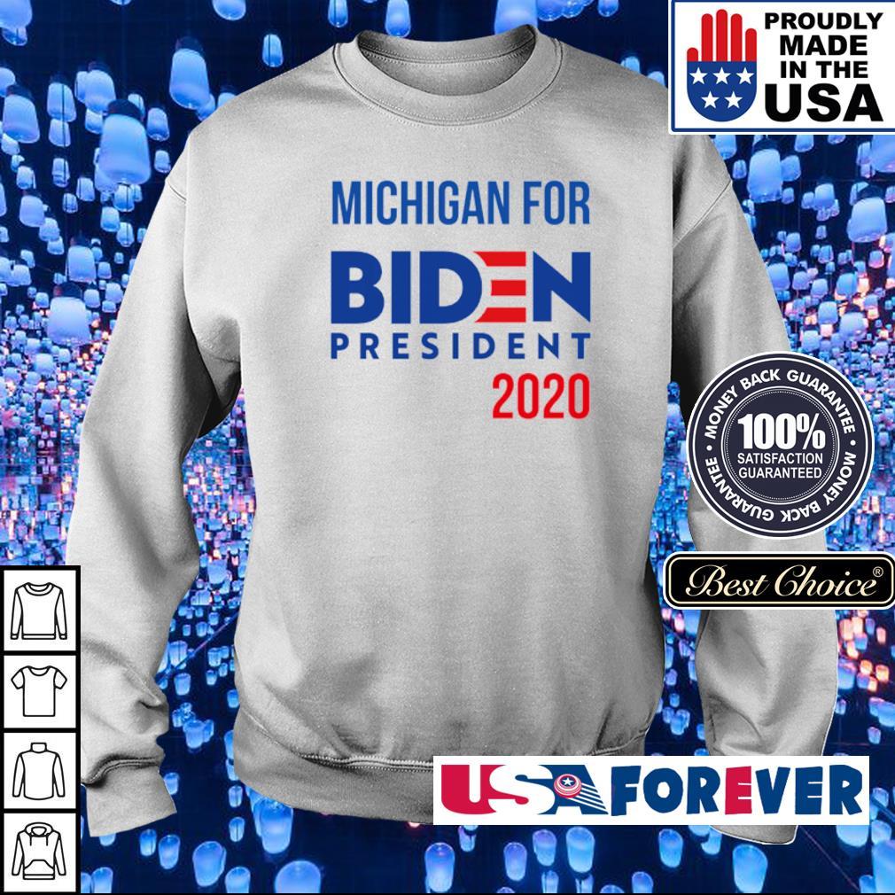 Michigan for Joe Biden president 2020 s sweater