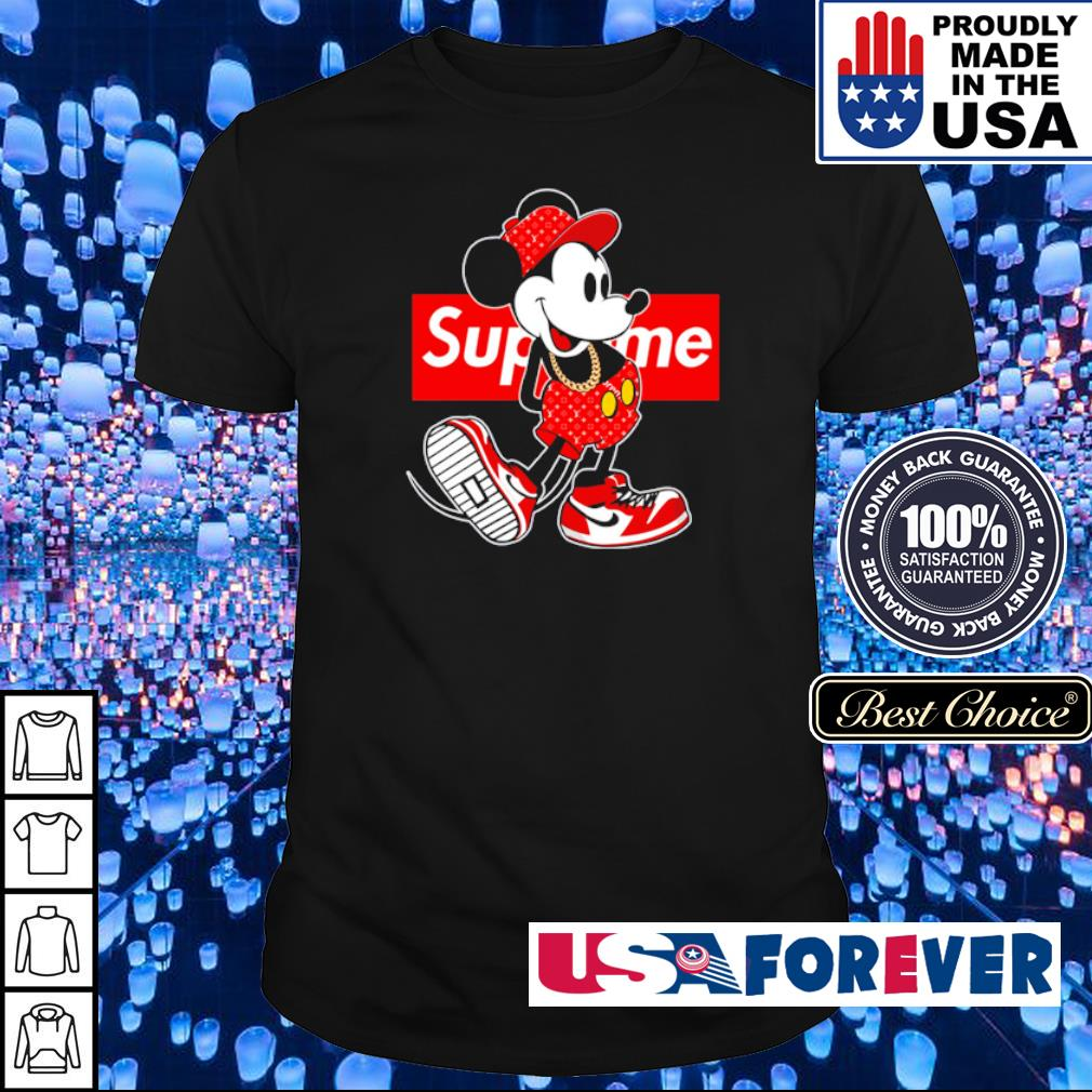 Mickey Mouse x Supreme shirt