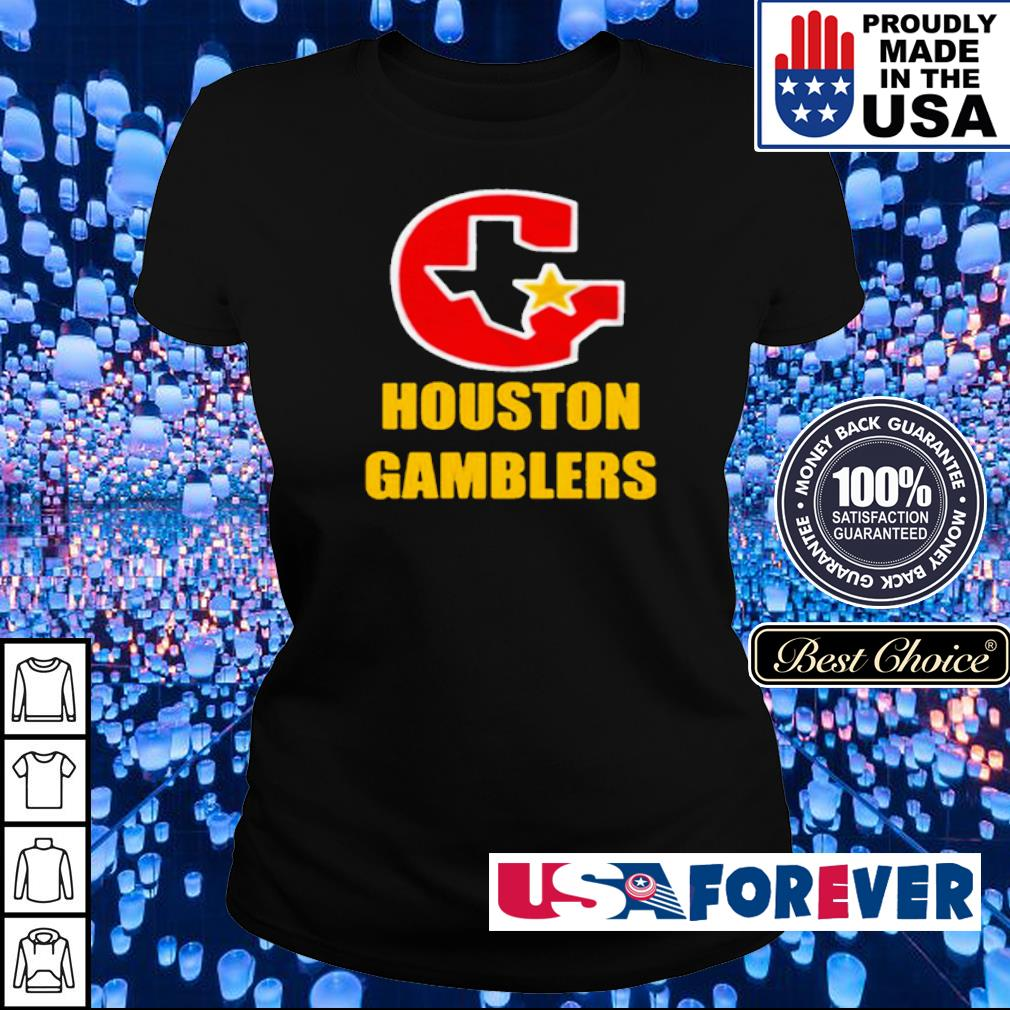 Official Houston Gamblers 2020 s ladies