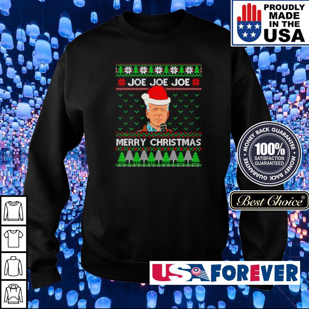 Official Joe Joe Joe merry Christmas sweater