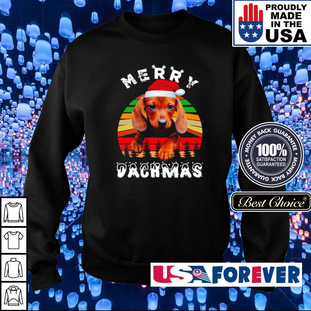 Official merry Dachmas vintage sweater