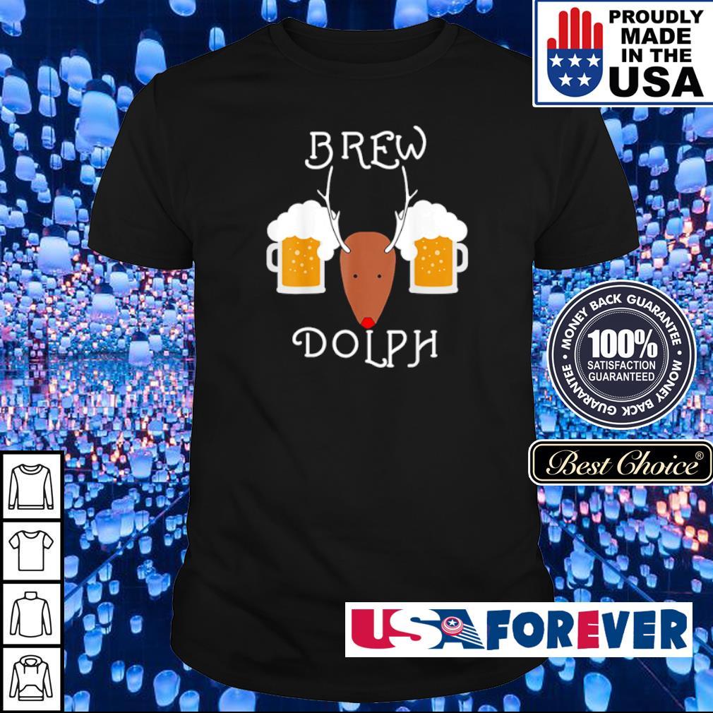 Reindeer brew dolph beer merry Christmas sweater shirt