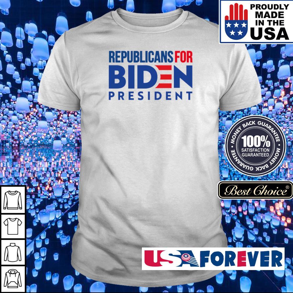 Republicans for Joe Biden president shirt