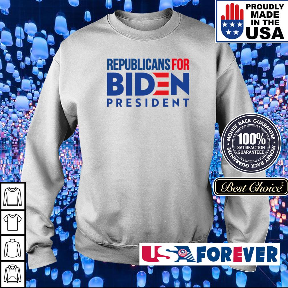 Republicans for Joe Biden president s sweater