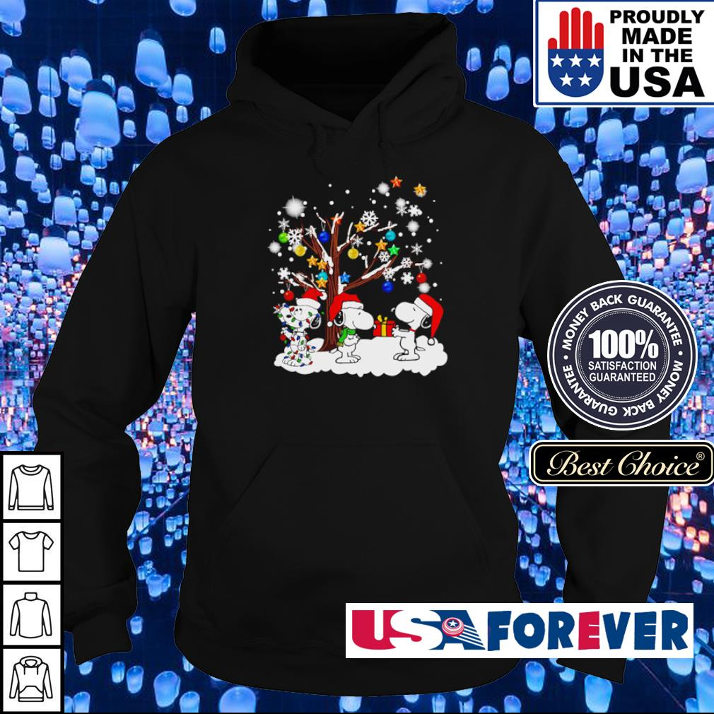 Snoopy and friends merry Christmas sweater hoodie