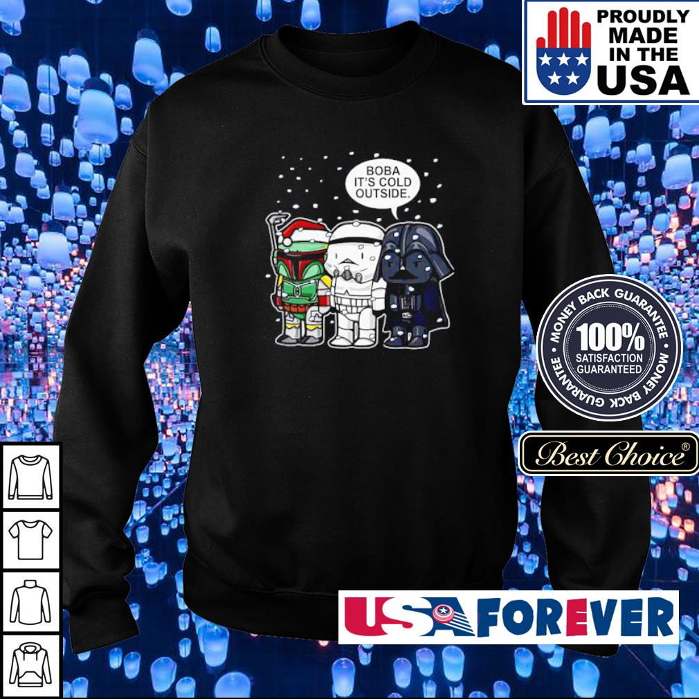 Star Wars Boba it's cold outside merry Christmas sweater