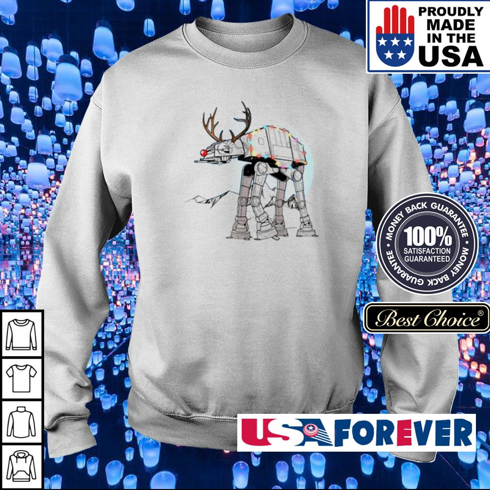Star Wars rudolph atat walker reindeer merry Christmas sweater