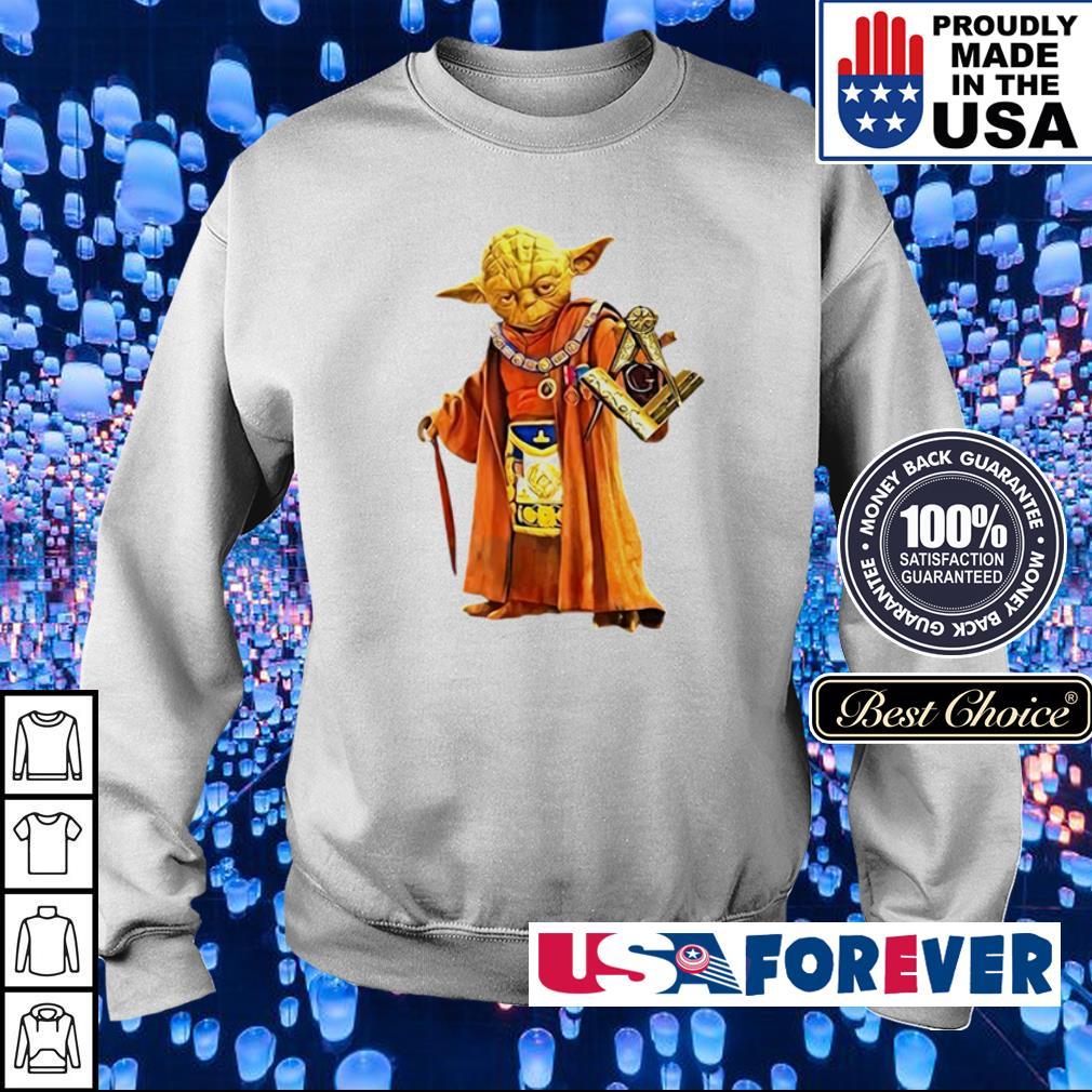 Star Wars Yoda master of freemason s sweater