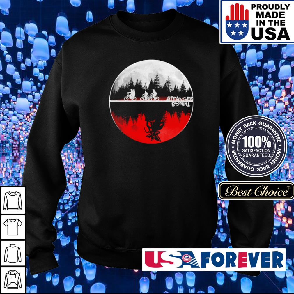 Stranger Things red moon s sweater