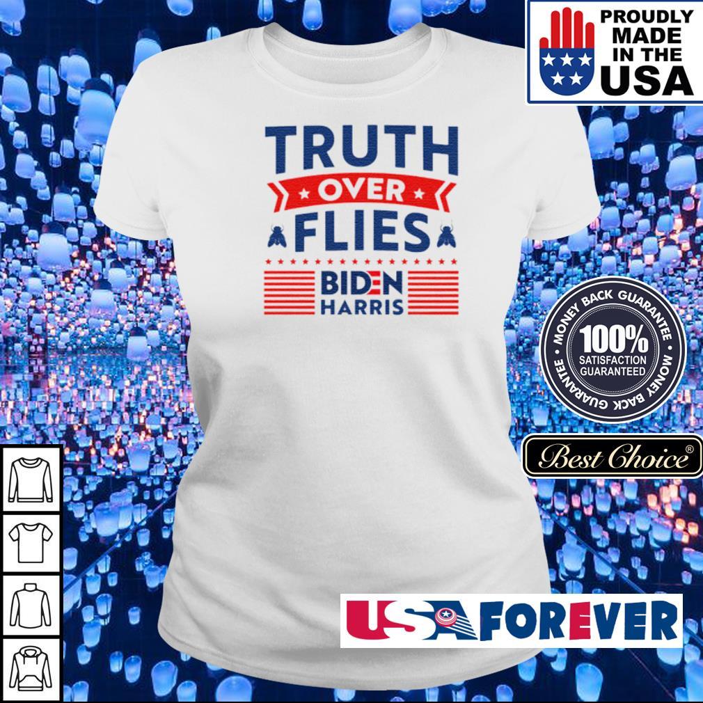 Truth over flies Biden Harris s ladies